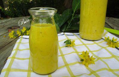 Gaspacho aux courgettes jaunes
