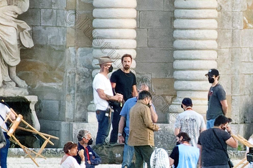 Ryan Gosling en pause.