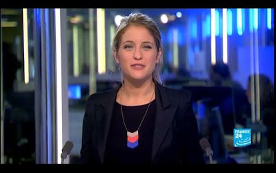 [2012 09 27] PAULINE PACCARD - FRANCE 24 - PARIS DIRECT @06H30