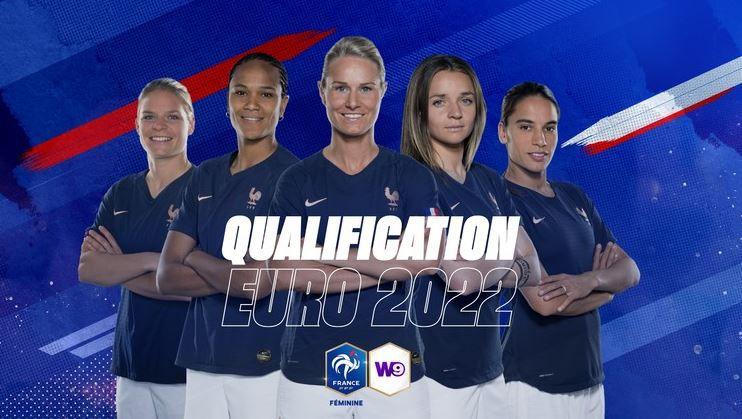 France / Macédoine du Nord (Qualif. Euro 2022 Dame) en direct ce vendredi sur W9 !