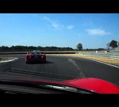 Ferrari 458 Italia sur circuit