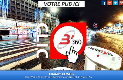 New3S prêt à débarquer sur les Champs Elysées de Paris pour le nouvel an 2017
