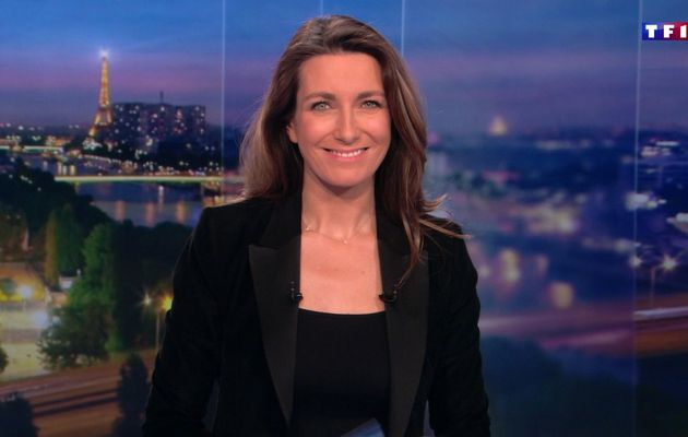 📸17 ANNE-CLAIRE COUDRAY @ACCoudray @TF1 @TF1LeJT pour LE 20H WEEK-END #vuesalatele