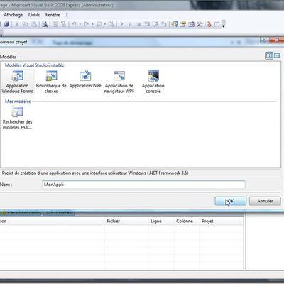 Visual Studio : ma première Base de Donnée, pour les débutants par un débutant.