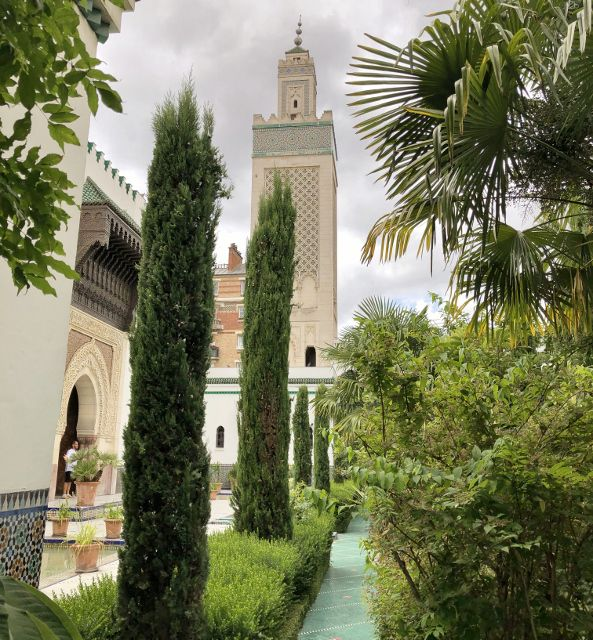 Mosquée de Paris : Jardin andalou