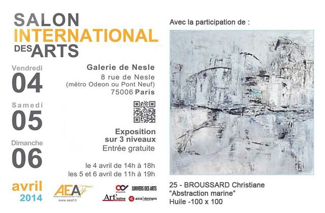 INVITATIONS SALON INTERNATIONAL AEAF PARIS
