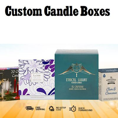 Make your organization excellent with Custom Candle Boxes from ordinary!
