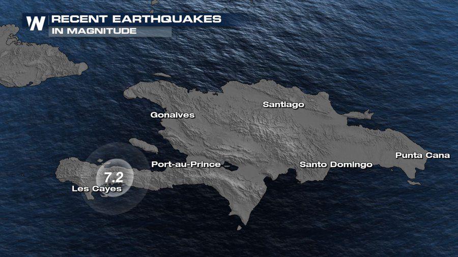 Puissant séisme de 7.2 à Haïti.  Au moins 1300 morts