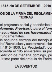 Revolución y contrarrevolución en la Banda Oriental. II
