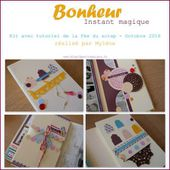 KIT201810 : KIT ALBUM OCTOBRE 2018 PAR MYLENE