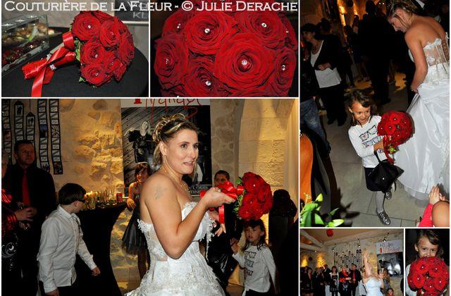 """Carnet d'ambiance """"Bouquets de mariée à lancer"""""""