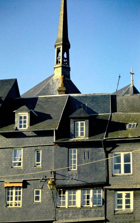 Honfleur, côté vieille ville.