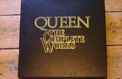 QUEEN The Complete Works (1985) vinyl box set.