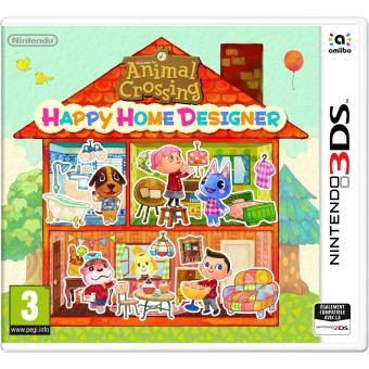 Animal crossing happy home designer prix fnac