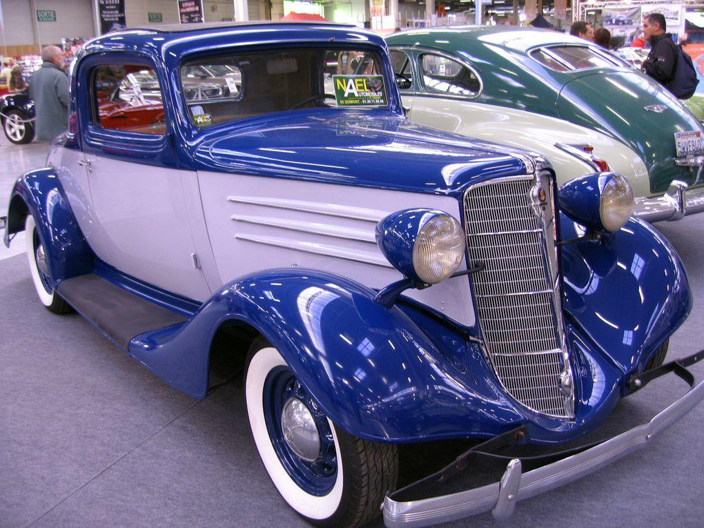 Salon-Automedon-2010 Le Bourget Exposition Motos et voitures anciennes et de collection