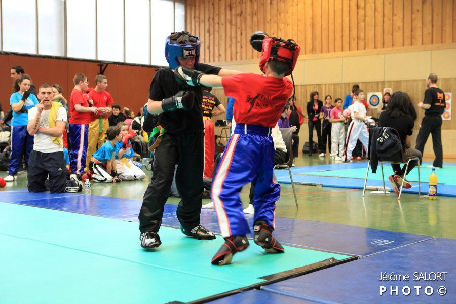 Compétition de full contact à Muret le 19 janvier 2013 partie 2