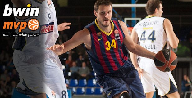Bostjan Nachbar named MVP of the week