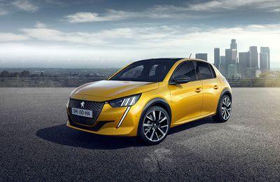 Peugeot 208: numéro 1 en Europe !