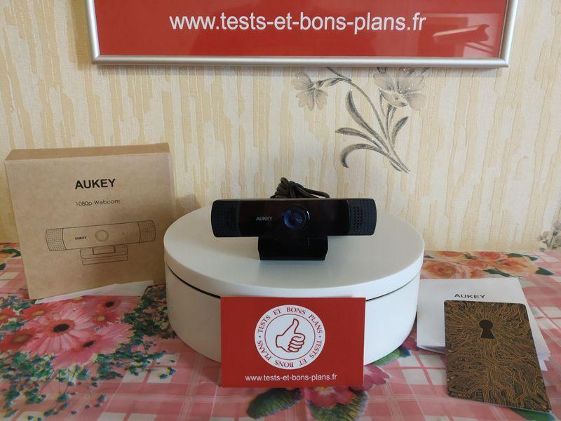 découverte de la Webcam Full HD Aukey PC-LM1E @ Tests et Bons Plans