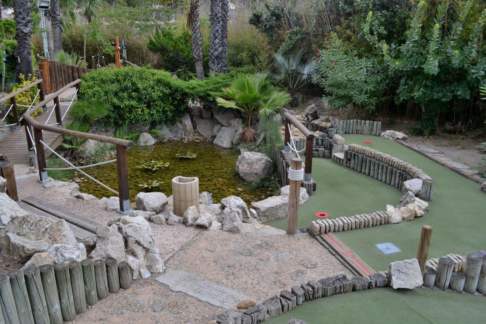 L'Aventure Mini-Golf au Grau-du-Roi...
