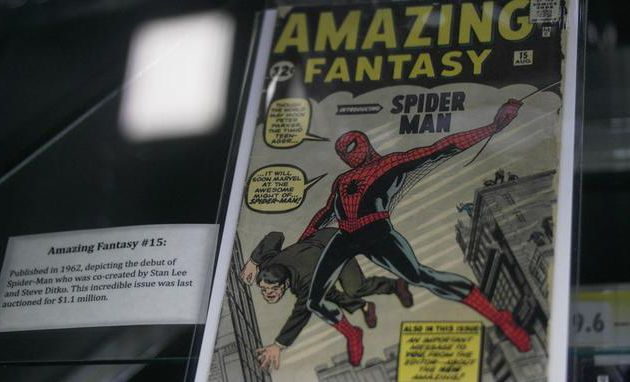 Le plus rare des comics Spider-Man mis aux enchères sur la toile