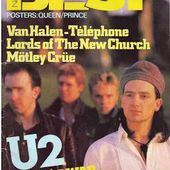 U2- Magazine BEST -Octobre 1984 -n°195 - U2 BLOG