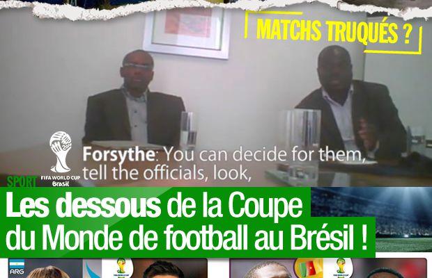 Les dessous de la Coupe du Monde de football au Brésil ! #CM2014