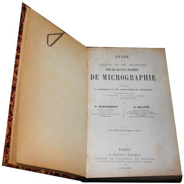 Beauregard (H.) & Galippe (V.)