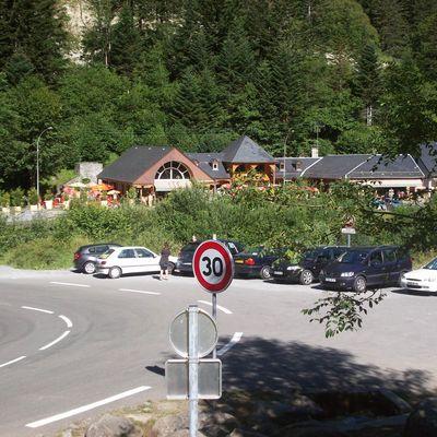 Le Chemin des Cascades de la Rallière vers le Pont d'Espagne - rando perso Sylvie 10.09.09
