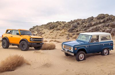 Ford Bronco: officiellement de retour!