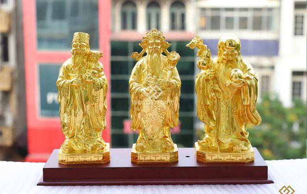 Ý nghĩa và tác dụng trong phong thuỷ của bộ tượng Tam Đa: Phúc - Lộc - Thọ