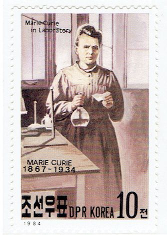 Marie Curie, Physique, Chimie