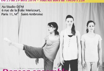 """Stage de rentrée """"Danser ensemble"""" du 25 au 29 août"""