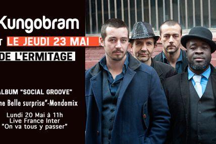 Nëggus & Kungobran en concert le 23 Mai Au Studio de l'Ermitage (Paris, France)