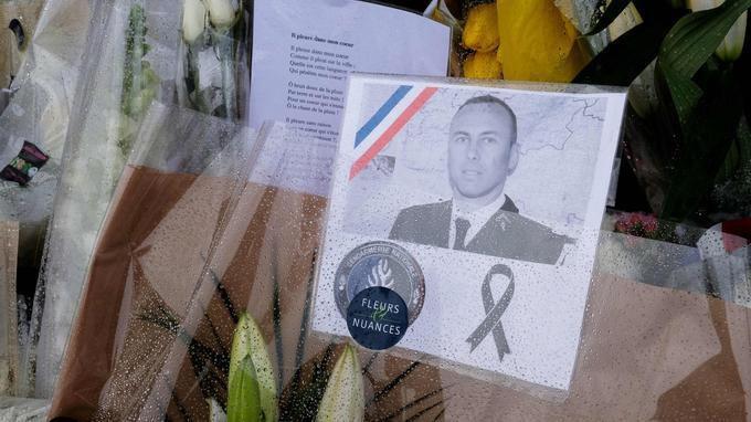 Sobre hommage à Arnaud Beltrame
