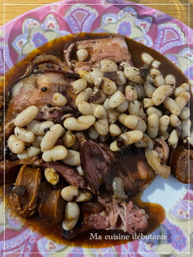 Mijoté d'haricots Asturien avec cookeasy