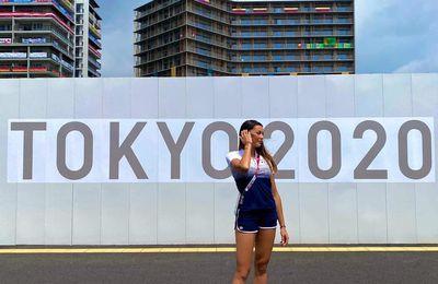 JO de Tokyo Escrime Sara Balzer-Menad petite fille de spahi remporte l'argent au sabre par équipe !