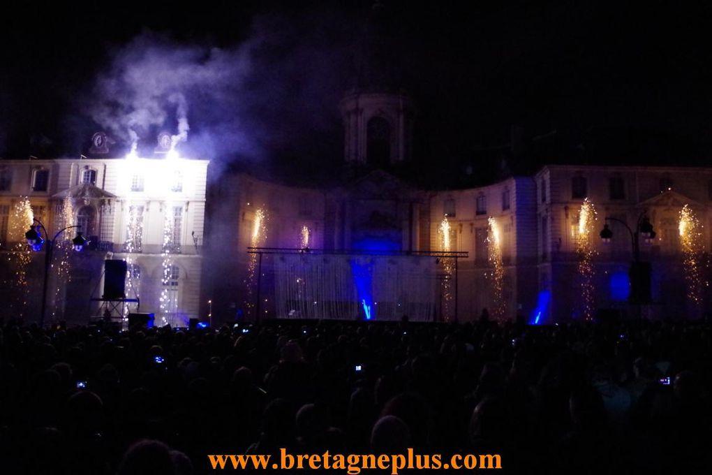 A l' occasion de la nuit de la Saint Sylvestre 2013, à Rennes, de nombreuses programmations étaient proposées.