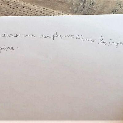 Réponses de l'énigme 2 et annonce de l'énigme 3.