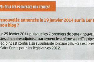 Droit de réponse : Saint-Prix ensemble 2020, déjà des promesses non tenues