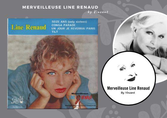 45 TOURS: 1959 Pathé - 45 EG 464 - Line Renaud