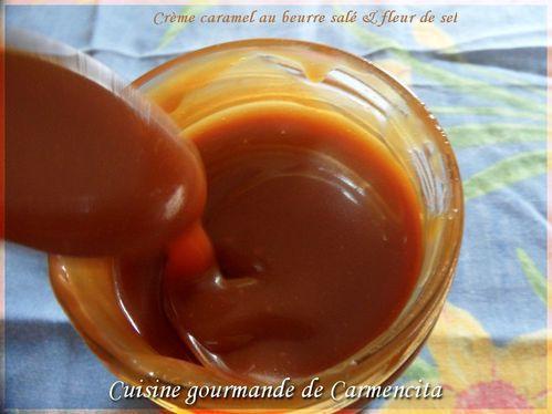 Crème caramel au beurre salé et fleur de sel