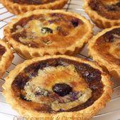 Tartelette amandine aux myrtilles - Cuisine gourmande de Carmencita