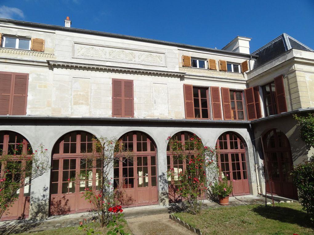 Visite du Château de Rottembourg, demeure qui inspira quatre toiles à Claude Monet qui y séjourna en 1876