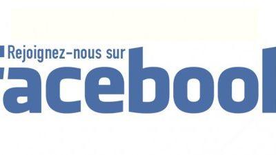 Trouvez nous sur Facebook!