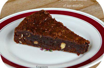 Gâteau moelleux au chocolat et aux noisettes