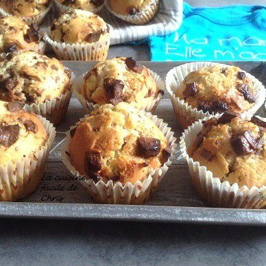 Muffins pour Morgane