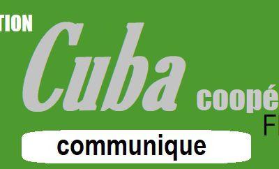La LETTRE de CUBA Coopération - Les nouveautés depuis le 7 janvier 2021