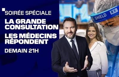 """""""La grande consultation"""" : Les médecins répondent à vos questions ce soir sur BFM TV"""
