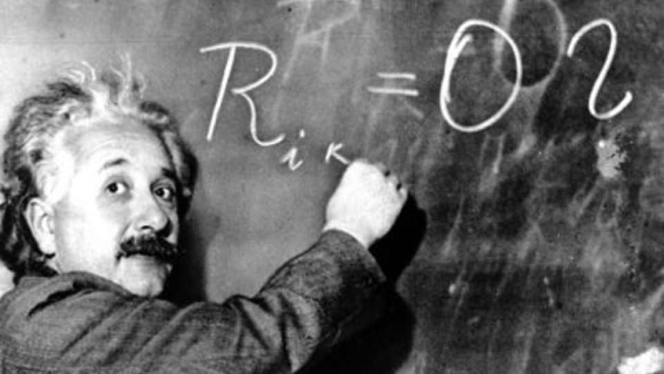 Einstein ! au tableau !